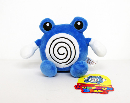 Pokemon Center Original Pokemon Dolls Poliwhirl (Nyorozo) 526-241838