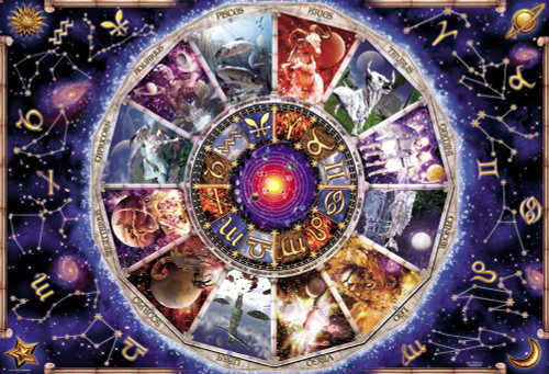 Beverly Jigsaw Puzzle 81-119 David Penfound Zodiac Signs of the zodiac (1000 Pieces)