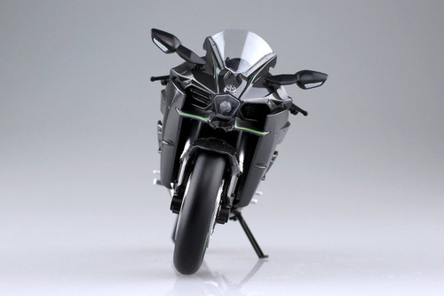 Aoshima Skynet 04569 Kawasaki Ninja H2 1/12 scale Finished Model
