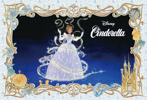 Epoch Jigsaw Puzzle Decoration 73-007 Disney Cinderella (300 Pieces)