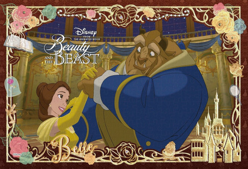 Epoch Jigsaw Puzzle Decoration 73-006 Disney Beauty and the Beast (300 Pieces)