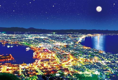 Epoch Jigsaw Puzzle 28-027 Japanese Scenery Hakodate Hokkaido (300 Pieces)