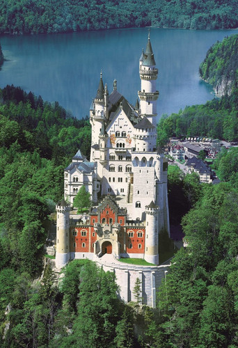 Epoch Jigsaw Puzzle 25-159 Neuschwanstein Castle Germany (300 Pieces)