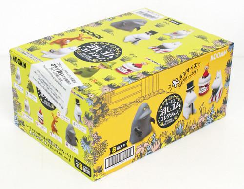 Re-ment 204017 MOOMIN Eraser Figure Collection 1 Box 8 Figures Complete Set