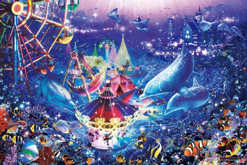 Epoch Jigsaw Puzzle 23-715 Lassen Dolphins in Wonderland (2016 S-Pieces)