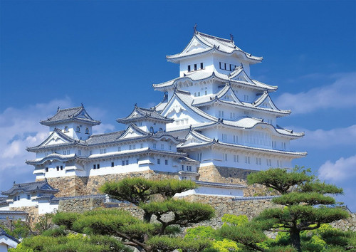 Epoch Jigsaw Puzzle 01-063 Himeji Castle Hyogo Japan (108 Pieces)
