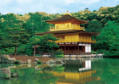 Epoch Jigsaw Puzzle 01-062 Kinkaku-ji Kyoto Japan (108 Pieces)