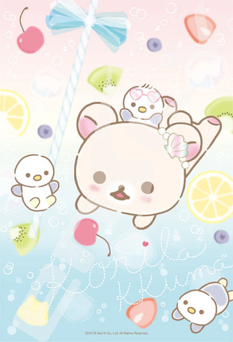 Ensky Jigsaw Puzzle 150-586 Korilakkuma Fruit Juice (150 S-Pieces)