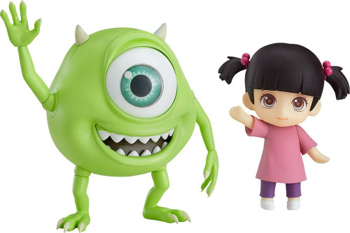 Good Smile Nendoroid 921 Mike & Boo Set: Standard Ver. (Monsters, Inc.)