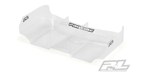 Kyosho 612176 Air Force2 Lightweight 6.5 Clear Rear Wing