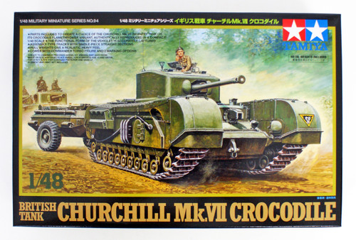 Tamiya 32594 British Tank Churchill Mk.VII Crocodile 1/48 scale kit