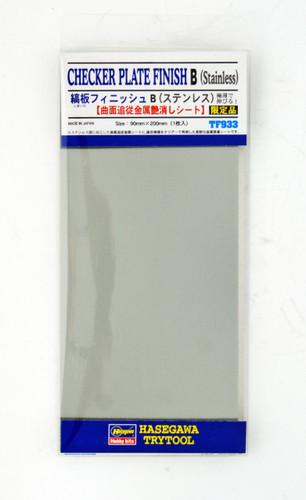 Hasegawa TF-933 Checker Plate Finish B (Stainless steel)