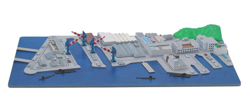 Fujimi Gunko 05 401485 US Army Yokosuka Naval Base 1/3000 scale kit