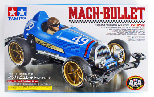 Tamiya 18091 Mini 4WD Mach-Bullet VS Chassis 1/32 Scale