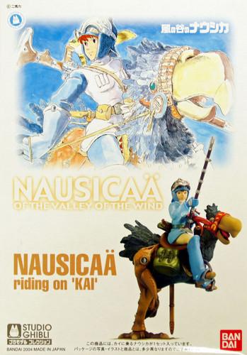 Bandai 249074 Nausicaa Riding on 'Kai' 1/20 Scale Kit