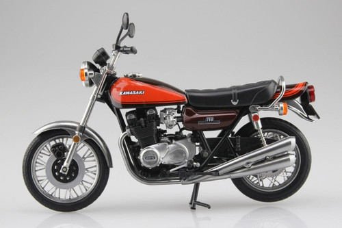 Aoshima Skynet 04620 Kawasaki 750RS (Z2) Fire Ball 1/12 Scale Finished Model