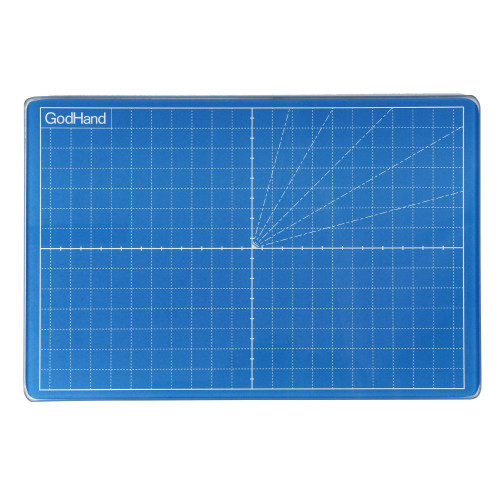 God Hand GH-GCM-B5-B Glass Cutter Mat (Blue)