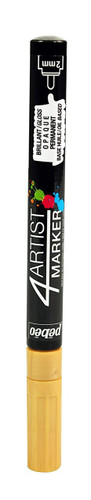 Gaianotes GPM00552 Opaque 4 Artist Marker 2mm Gold Hobby Tools