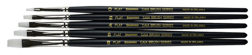 Gaianotes Brash Series BFS01 Flat Brush Set Hobby Tools