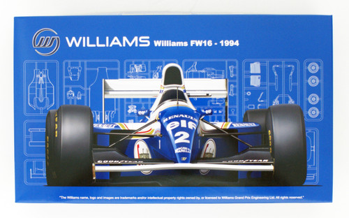Fujimi GP24 Williams FW16 Renault (San Marino GP/ Brazilian GP/ Pacific GP) 1/20 Scale kit