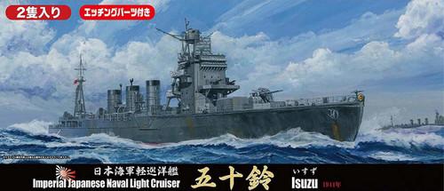 Fujimi TOKU 58EX-1 IJN Light Cruiser Isuzu Special Ver w/ Photo-etched Parts 1/700 scale kit