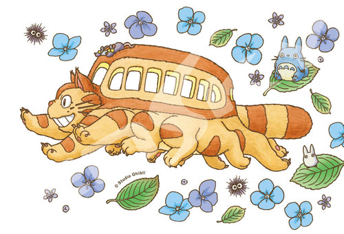 Ensky Jigsaw Puzzle 150-G58 My Neighbor Totoro Studio Ghibli Cat Bus (150 S-Pieces)