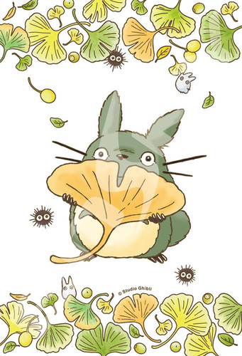 Ensky Jigsaw Puzzle 150-G57 My Neighbor Totoro Studio Ghibli Ginkgo (150 S-Pieces)
