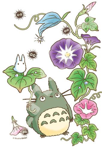 Ensky Jigsaw Puzzle 150-G56 My Neighbor Totoro Studio Ghibli Morning Glory (150 S-Pieces)