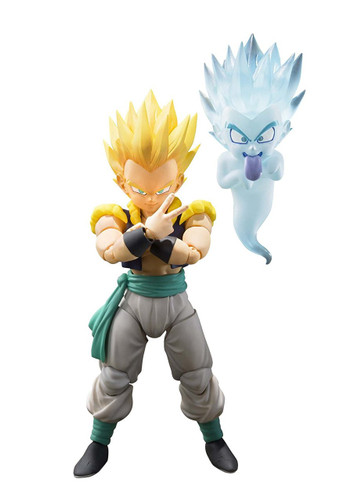 Bandai S.H. Figuarts Super Saiyan Gotenks Action Figure (Dragon Ball Z)