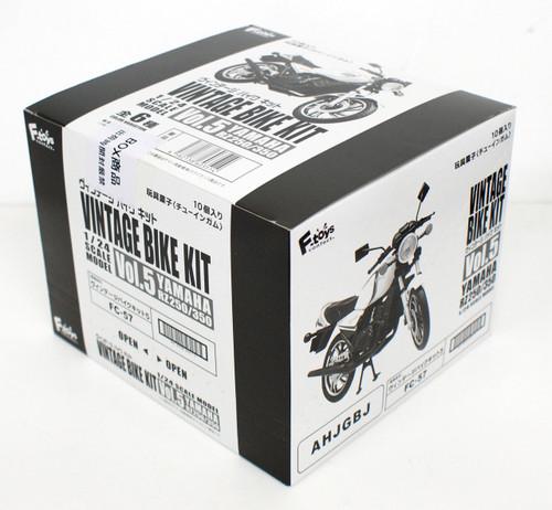 F-toys Vintage Bike Kit Vol.5 Yamaha RZ250/350 1 BOX 10 Kits Set