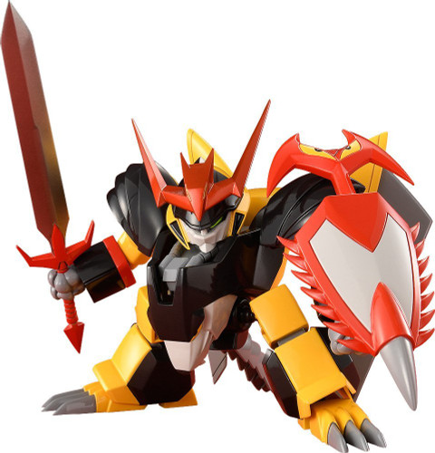 Max Factory PLAMAX MS-03: JYAKOMARU (Mashin Hero Wataru) Plastic Model Kit