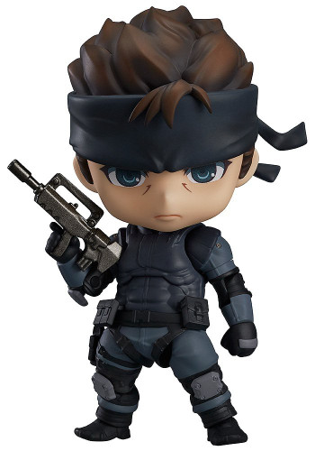 Good Smile Nendoroid 447 Solid Snake (METAL GEAR SOLID)