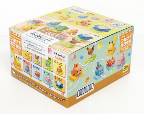 Re-ment 204352 CORD KEEPER! Pokemon Quest Pok-Cell BOX 8 Pcs. Complete set