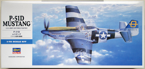 Hasegawa D25 P-51D MUSTANG 1/72 Scale Kit