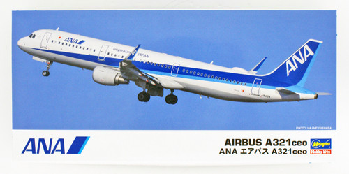 Hasegawa 10827 ANA All Nippon Airways Airbus A321ceo 1/200 scale kit