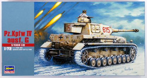 Hasegawa MT43 Pz.Kpfw IV ausf. G TANK 1/72 Scale Kit