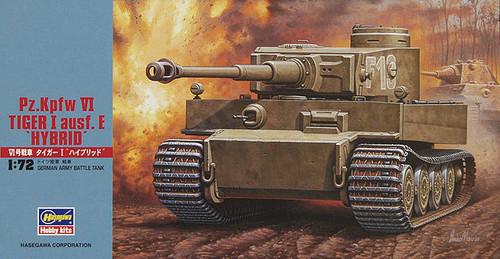 Hasegawa MT55 Pz.Kpfw VI TIGER I ausf.E HYBRID 1/72 Scale Kit