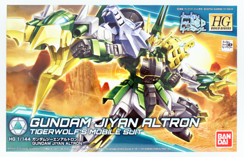 Bandai HG Gundam Build Divers 011 Gundam Jiyan Altron 1/144 Scale Kit