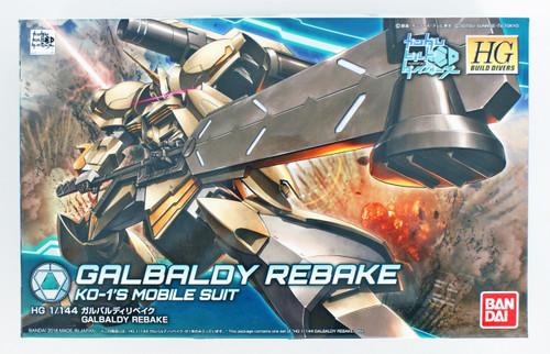 Bandai HG Gundam Build Divers 010 Galbaldy Rebake 1/144 Scale Kit
