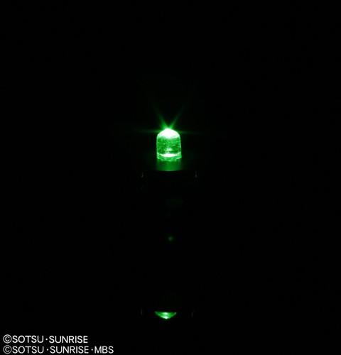 Bandai 731180 Gunpla LED Unit Green (2 pieces Set)
