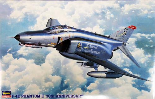 Hasegawa PT08 F-4E PHANTOM II 30TH ANNIVERSARY (One Piece Canopy) 1/48 Scale Kit