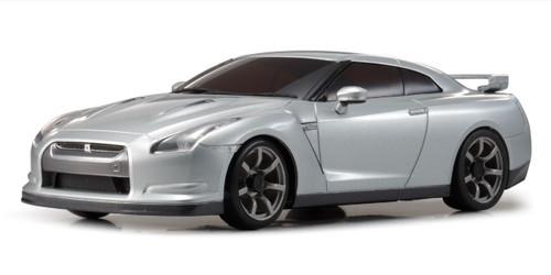 Kyosho MZP152S ASC MR03RWD NISSAN GT-R (R35) Ultimate Metal Silver