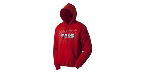 Kyosho 88004L Kfade 2.0 Sweat W/Hood Red Large