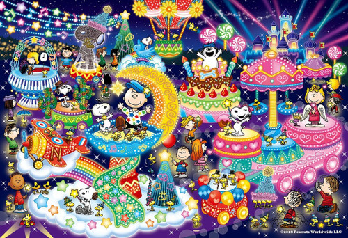 Epoch Jigsaw Puzzle 28-316s Peanuts Snoopy Illumination (300 Pieces)