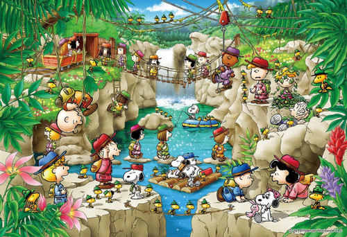Epoch Jigsaw Puzzle 26-290s Peanuts Snoopy Forest Exploration Party (300 Pieces)