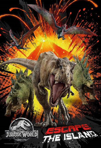Epoch Jigsaw Puzzle 26-293s Jurassic World Escape The Island (300 Pieces)