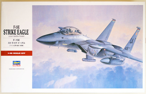 Hasegawa PT48 F-15E STRIKE EAGLE (USAF Fighter/Attacker) 1/48 Scale Kit