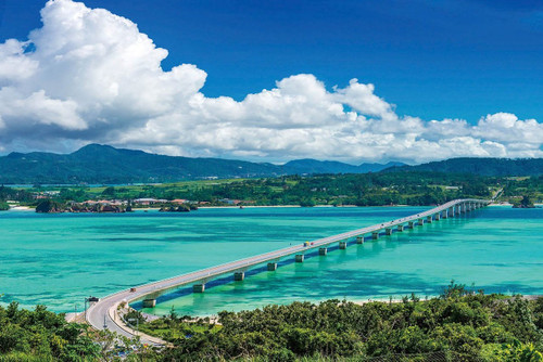 Epoch Jigsaw Puzzle 23-599 Kouri Ohashi Bridge Okinawa Japan (2016 S-Pieces)