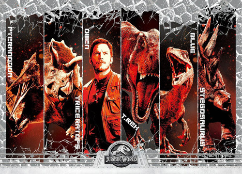 Epoch Jigsaw Puzzle 06-101s Jurassic World Owen and Dinosaurs (500 Pieces)