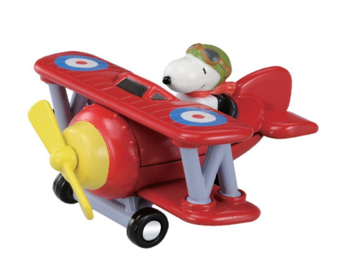 Takara Tomy Dream Tomica Ride On R08 Snoopy (Flying Ace) (981206)